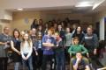 Uczniowie klasy 7e poznają tajniki zawodów w CKZiU .