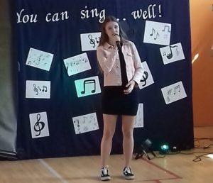 Międzyszkolny Konkurs Piosenki Angielskiej pt.You can sing well.
