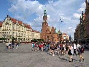 Klasy 7 c i 7e we Wrocławiu