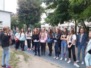 Wizyta szkoły partnerskiej ze Słowacji