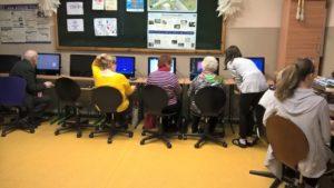 Zajęcia obsługi komputera dla Seniorów