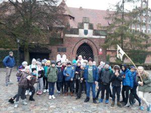 Wycieczka klasy 4a do Malborka