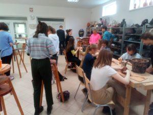 Warsztaty w Liceum Sztuk Plastycznych