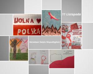 """Konkurs plastyczny """" Niepodległa Polska"""""""