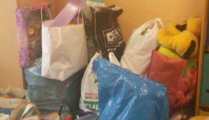 Zbiórka zabawek dla dzieci przebywających w szpitalu.